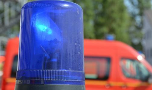 Огромная дорожная пробка в Петербурге растворилась перед машиной скорой помощи