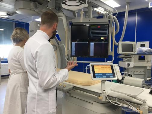 От ампутации ног петербуржцев будут спасать в новом центре больницы святого Георгия