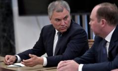 Вячеслав Володин: Не хватает намного больше медработников, чем говорит Минздрав