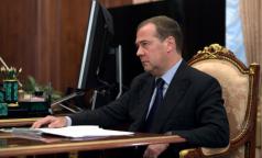 Медведев требует прекратить манипуляции со статистикой смертности в регионах