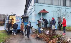 В Петербурге появился «Автобус милосердия» для бездомных
