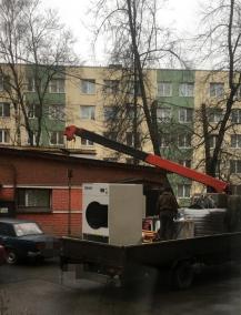 Петербуржцы выселили со двора дымящую станцию дезинфекции. Проверять теперь некого