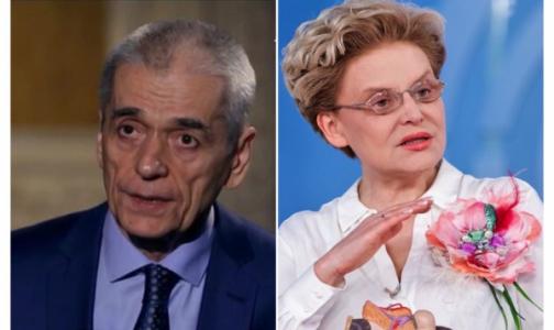 «Солнышко меня не освещает»: Онищенко и Малышева разошлись во мнениях о коронавирусе