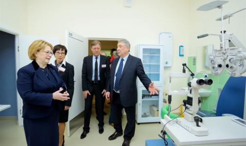 В Петербурге открыли новую поликлинику - в бывшей МСЧ-144