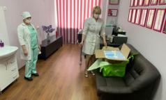 Петербургские бизнесмены подарили больнице Святого Георгия 5 тысяч медицинских масок