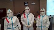 Фоторепортаж: ««Зарю» переоборудовали в «ковидный» госпиталь за несколько дней»