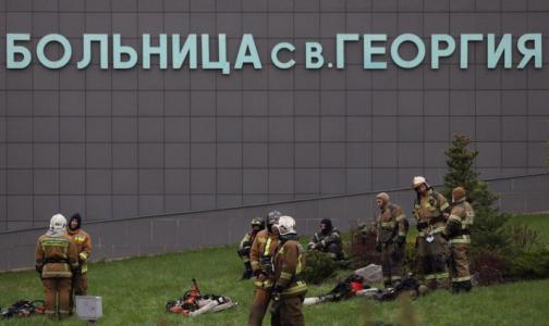 В комздраве назвали имена погибших во время пожара в больнице святого Георгия