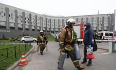 Губернатор Петербурга рассказал, как действовали медики больницы святого Георгия во время пожара