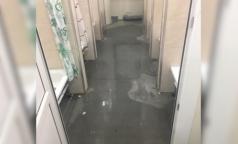 В комздраве объяснили потопы во временном госпитале «Ленэкспо»
