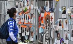 100 дней спустя. «Стена памяти» погибшим от коронавируса медикам стала символом Петербурга