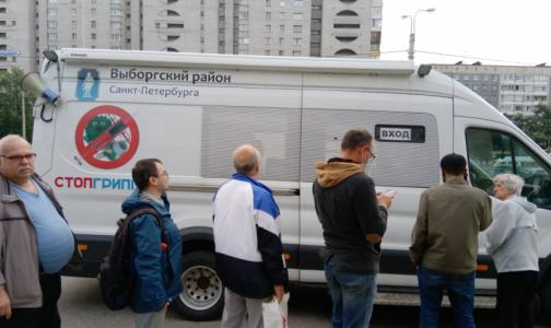 Как в 2020 году петербуржцы смогут привиться от гриппа у метро и торговых центров