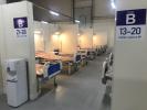 «Ленэкспо» готовится встретить первых пациентов «второй волны»: Фоторепортаж