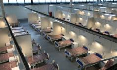 Реанимация, томограф, урны и шкафчики. Госпиталь в Ленэкспо готовится принять до 2500 пациентов с ковидом