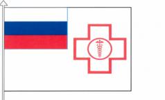 Федеральный фонд ОМС обзавелся флагом. Ведомство придумало себе геральдические символы